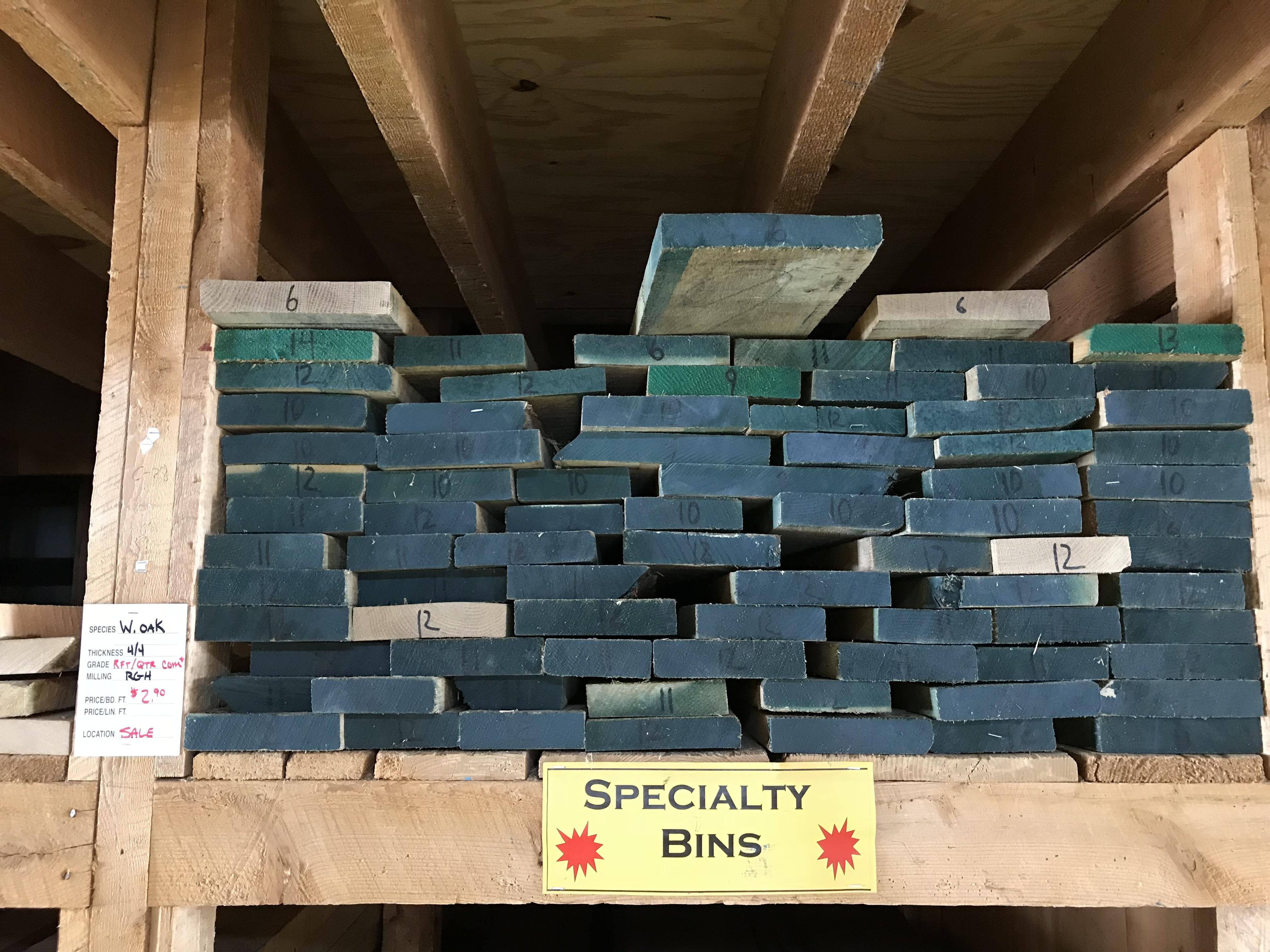 Lumber Specials Highland Hardwoods