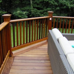 Mahogany (Red Balau) Decking