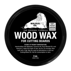 Walrus Oil Wood Wax for Cutting Boards